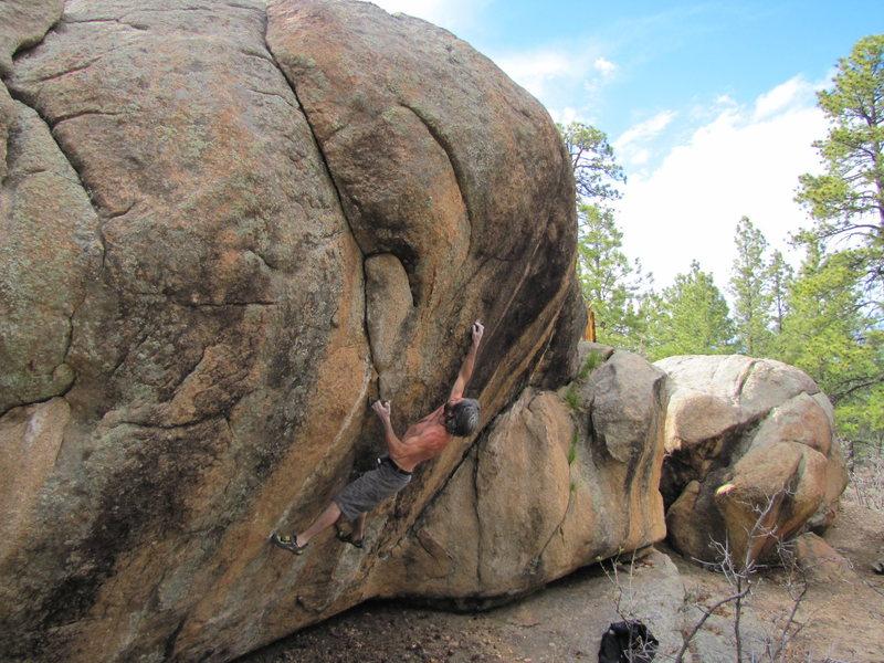 Rock Climbing Photo: The Jackal V? Project