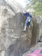 Rock Climbing Photo: BC pullin' pockets