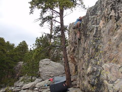 Rock Climbing Photo: Estes creek