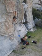 """Rock Climbing Photo: The start of """"Nipples and Clits."""""""