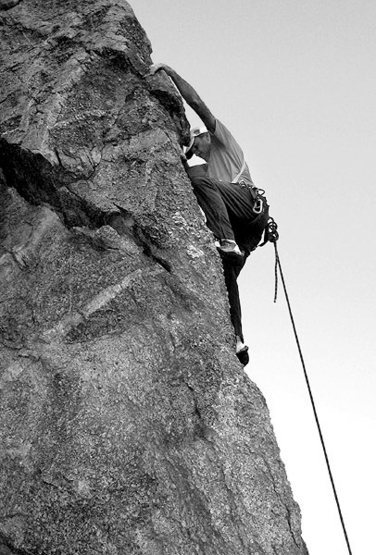 "Rock Climbing Photo: Todd Gordon on the FA of ""10 Hits of Window P..."