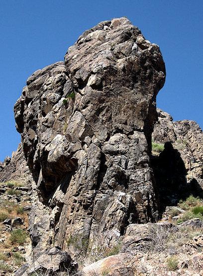 Rock Climbing Photo: Predator Wall profile. Photo by Blitzo.