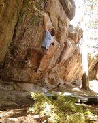 Rock Climbing Photo: Jables sending Thievery.
