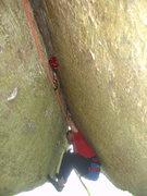 Rock Climbing Photo: Dave A. on the send!