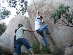 Rock Climbing Photo: Doug sending