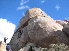 Rock Climbing Photo: Early Retirement on the right, and Burkuleese on t...
