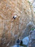Rock Climbing Photo: Joe on Jailbreak. Eric Ruljancich on belay. Photo ...