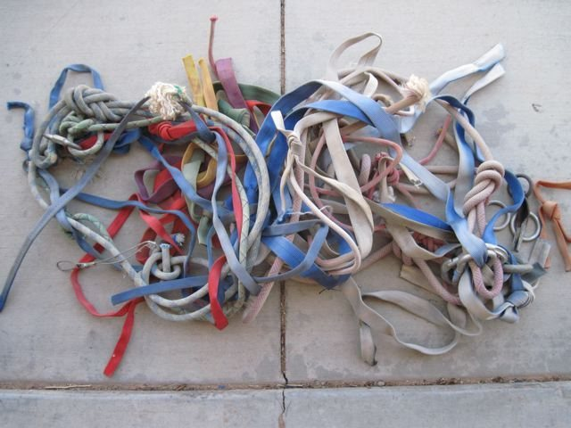 Rock Climbing Photo: Brought down quite a bit of old stuff off this tow...