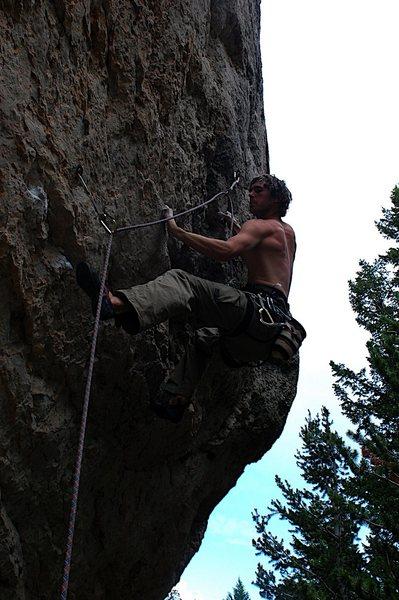 Rock Climbing Photo: Sean