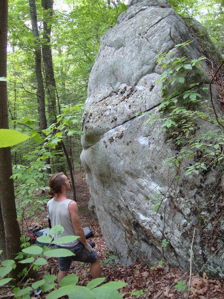 Rock Climbing Photo: so humid!