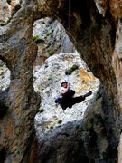 Rock Climbing Photo: Scenic rappel at the Palace