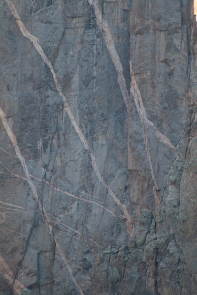 Rock Climbing Photo: Pitch 1, Journey Home-Black Canyon