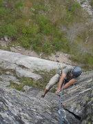 Rock Climbing Photo: Converse finishing pitch 2