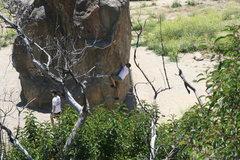Rock Climbing Photo: Unknown climber 5-22-10