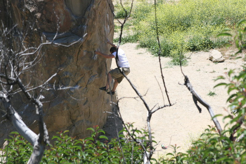 Rock Climbing Photo: Unknown climber 5-22-10