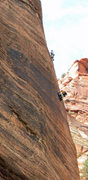 Rock Climbing Photo: Perin Blanchard and Lee Jensen on the third pitch ...