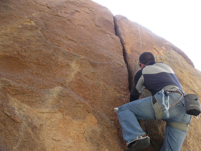 Rock Climbing Photo: Will Casolara on The Cracken (5.10-)