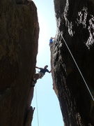 Rock Climbing Photo: Todd Gordon on The Cracken (The climber on the lef...