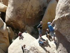 Rock Climbing Photo: I.B.J.