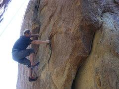 Rock Climbing Photo: Invisible Baby Joan.