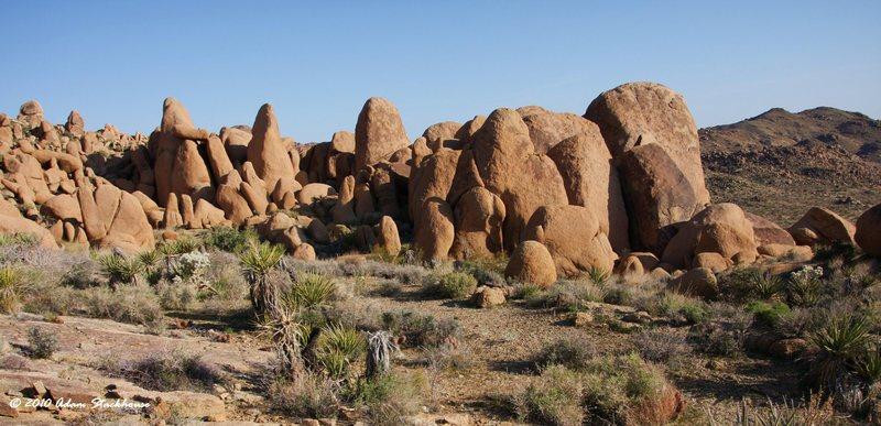 SE Boulders area
