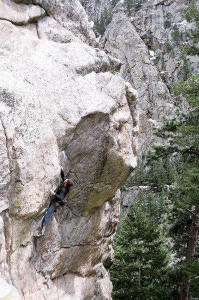 Rock Climbing Photo: Nice Bo Can day and a fun climb.