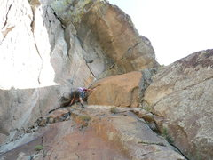 Rock Climbing Photo: Tucker Tech at Thumb Butte