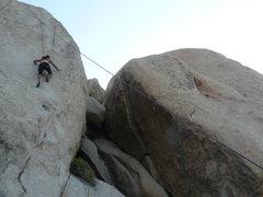 Rock Climbing Photo: Gina Barerra on Barking Spiders.