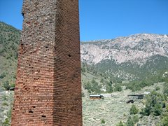 """Rock Climbing Photo: The smelting stack with the """"Hilton"""" cab..."""
