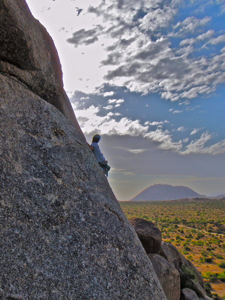 Rock Climbing Photo: Changes in Latitude with Troon Mt (closed) in the ...