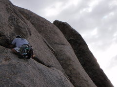 Rock Climbing Photo: Your heading around the two corners for that detac...