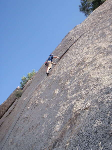 Rock Climbing Photo: You can put a #2 Metolius (yellow) in that crack ....
