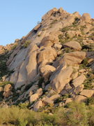 Rock Climbing Photo: Sven Slabs - McDowell Mountains