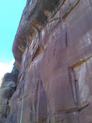Rock Climbing Photo: Profile of P1