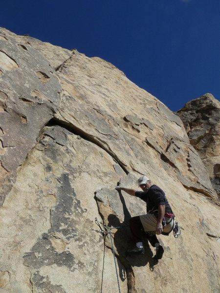 Rock Climbing Photo: Peril Rock