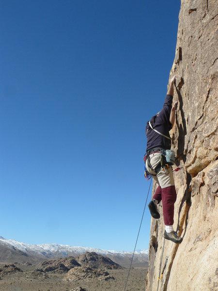 Rock Climbing Photo: The Booger Man.