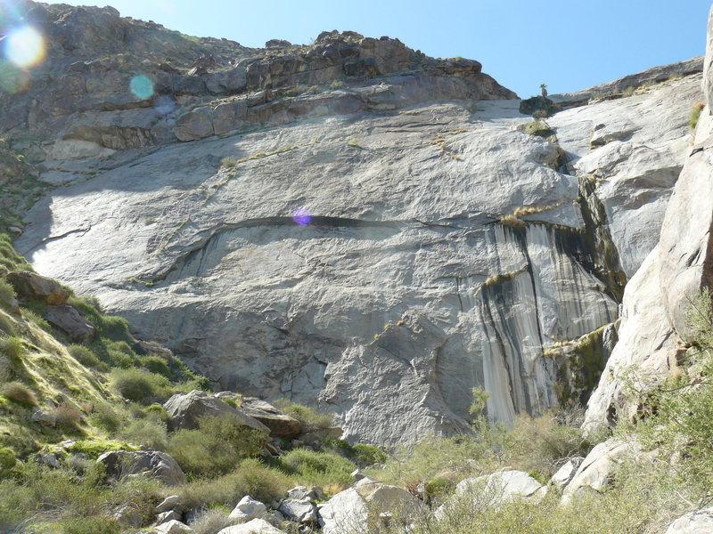 Rock Climbing Photo: Dry Falls