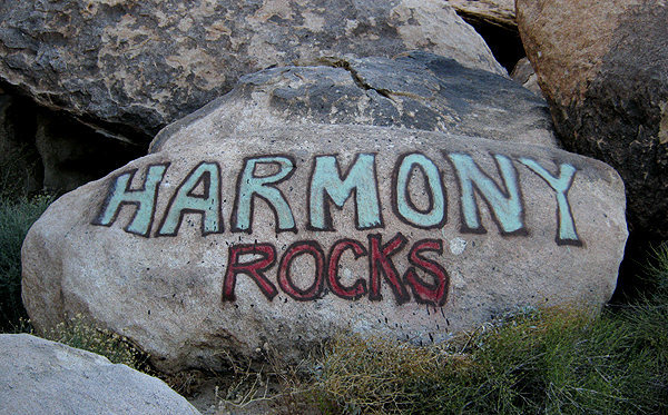 Harmony Rocks.<br> Photo by Blitzo.