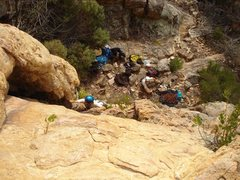 Rock Climbing Photo:  Pedro, an Australian 10 (5.5?)