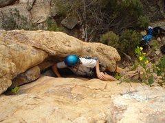 Rock Climbing Photo: Nice crack!