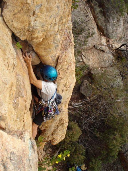 Rock Climbing Photo: 5.5 ?