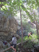 Rock Climbing Photo: @ one of the crags