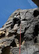 Rock Climbing Photo: Locker Drilling. Photo by Blitzo.