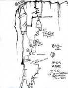 Rock Climbing Photo: Iron Age on the Anvil