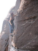 Rock Climbing Photo:  midway 1st pitch