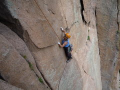 Rock Climbing Photo: Most people hand traverse this section but walking...