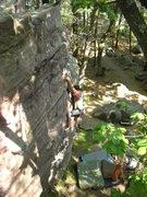 Rock Climbing Photo: Skinny loving the crack.