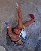Rock Climbing Photo: Flyin' Hyena, Cuba, on FA