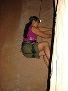 Rock Climbing Photo: Climbing 30 Seconds to Potash at night
