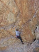 Rock Climbing Photo: Josie Becker demonstrating perfect cross-body tech...